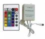 IR ovládač RGB LED pásov 24 tlačidlový