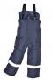 Mrazuvzdorné  reflexné nohavice  na traky