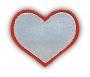 Reflexná Nažehľovačka - Srdce