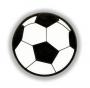 Reflexná Samolepka - Futbalová Lopta