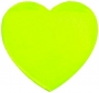 Reflexná Samolepka-Srdce