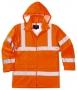 Reflexná bunda do dažďa PW