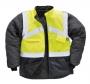Reflexná bunda dvojfarebná obojstranná PW