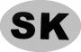 Reflexná nálepka - SK