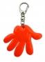 Reflexný prívesok ruka - oranžový