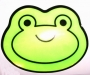 Reflexná samolepka- Žaba