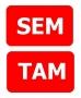 Reflexná samolepka SEM/TAM