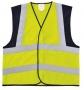 Reflexná vesta pre dospelých-kombi 10ks