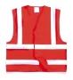 Reflexná vesta pre dospelých,červená -10ks