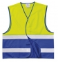 Reflexná vesta pre dospelých kombi 2-10ks