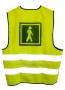 Reflexna vesta pre dospelých-zrakovo postihnutý