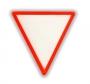 Reflexná  Samolepka - Trojuholník Výstražný