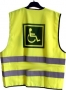 Reflexná vesta pre deti-vozíčkar